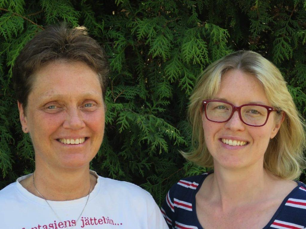 Cilla Dalén och Annelie Drewsen