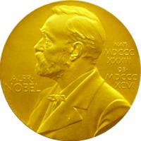 Grupplogga för Nobelpriset i litteratur