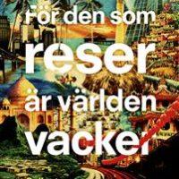 Grupplogga för Fackmedianätverkets bokcirkel: För den som reser är världen vacker