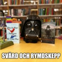 Grupplogga för Svärd och Rymdskepp (I samarbete med Nordmalings bibliotek)