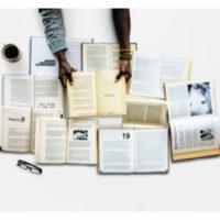 Grupplogga för Läs med Hammarkullens bibliotek